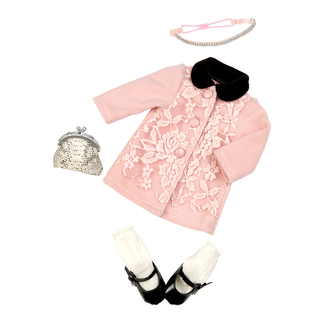 Winter Wonder Outfit sequin jacket