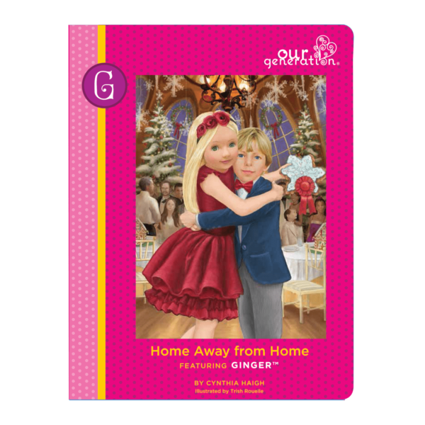 6c3cd1140e24e Ginger Doll | 18-inch Doll Blonde Green Eyes | Our Generation