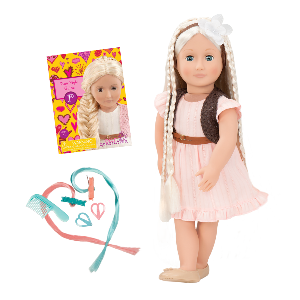 BD31043 Penny Hairplay Doll all components