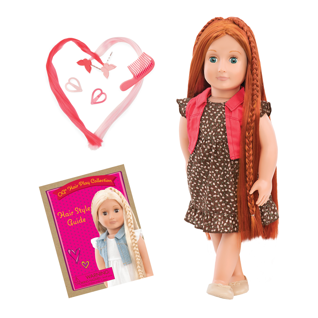 BD31054 Peyton Hairplay Doll all components