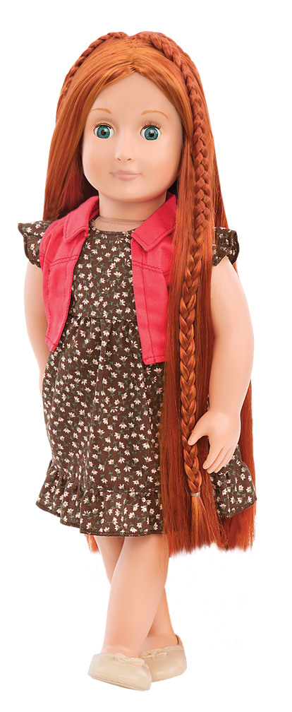 BD31054 Peyton Hairplay Doll standing03