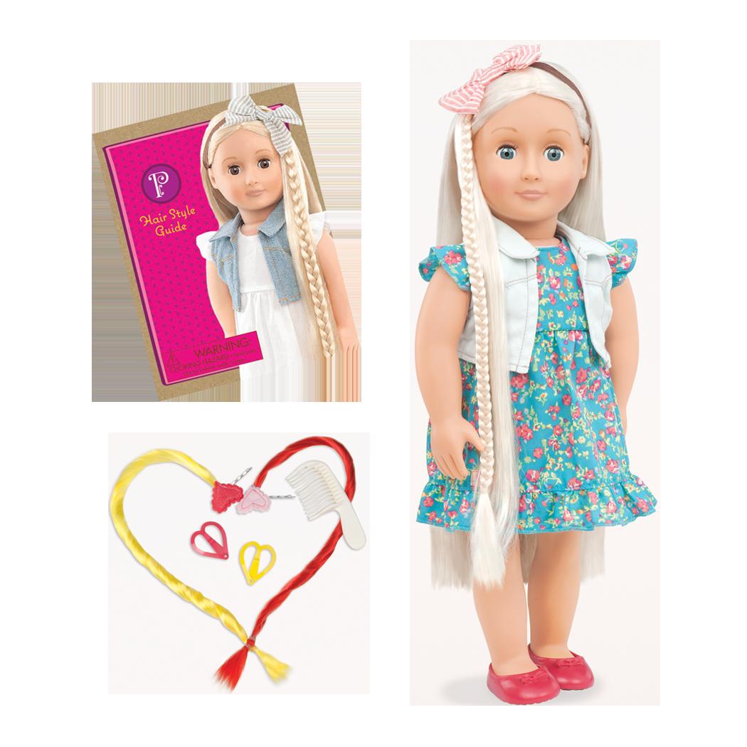 Pearl 18-inch Hairplay Doll
