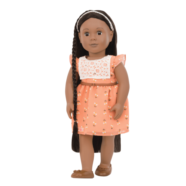 BD31088 Zuri Hairplay Doll standing up