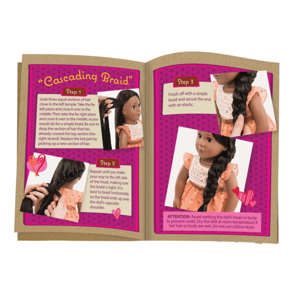 BD31088 Zuri Hairplay Doll style guide