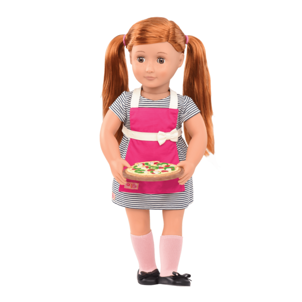 Noa wearing diner outfit