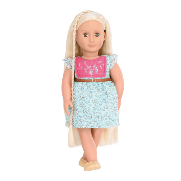 BD31096 Pria Hairplay Doll standing up