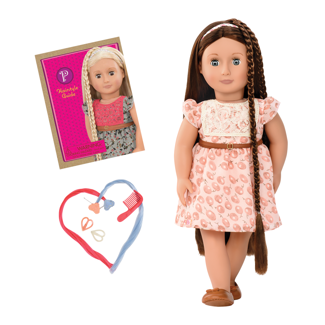 Pansy 18-inch Hairplay Doll with Braids