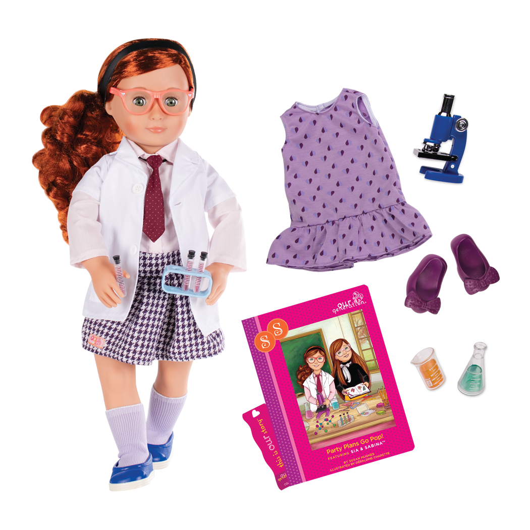 ed78897eb887 Sia Deluxe 18-inch Doll with Storybook