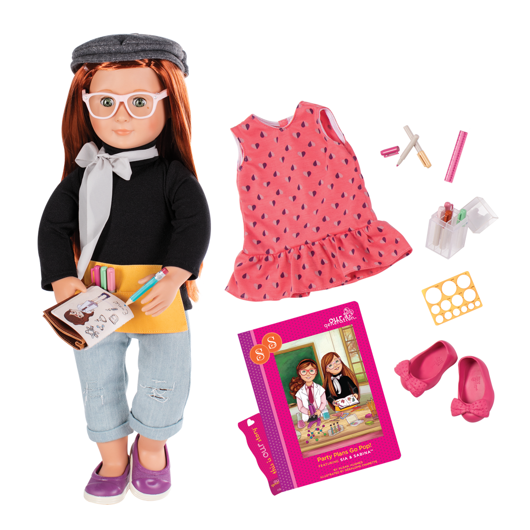 Sabina Deluxe 18-inch Doll with Storybook