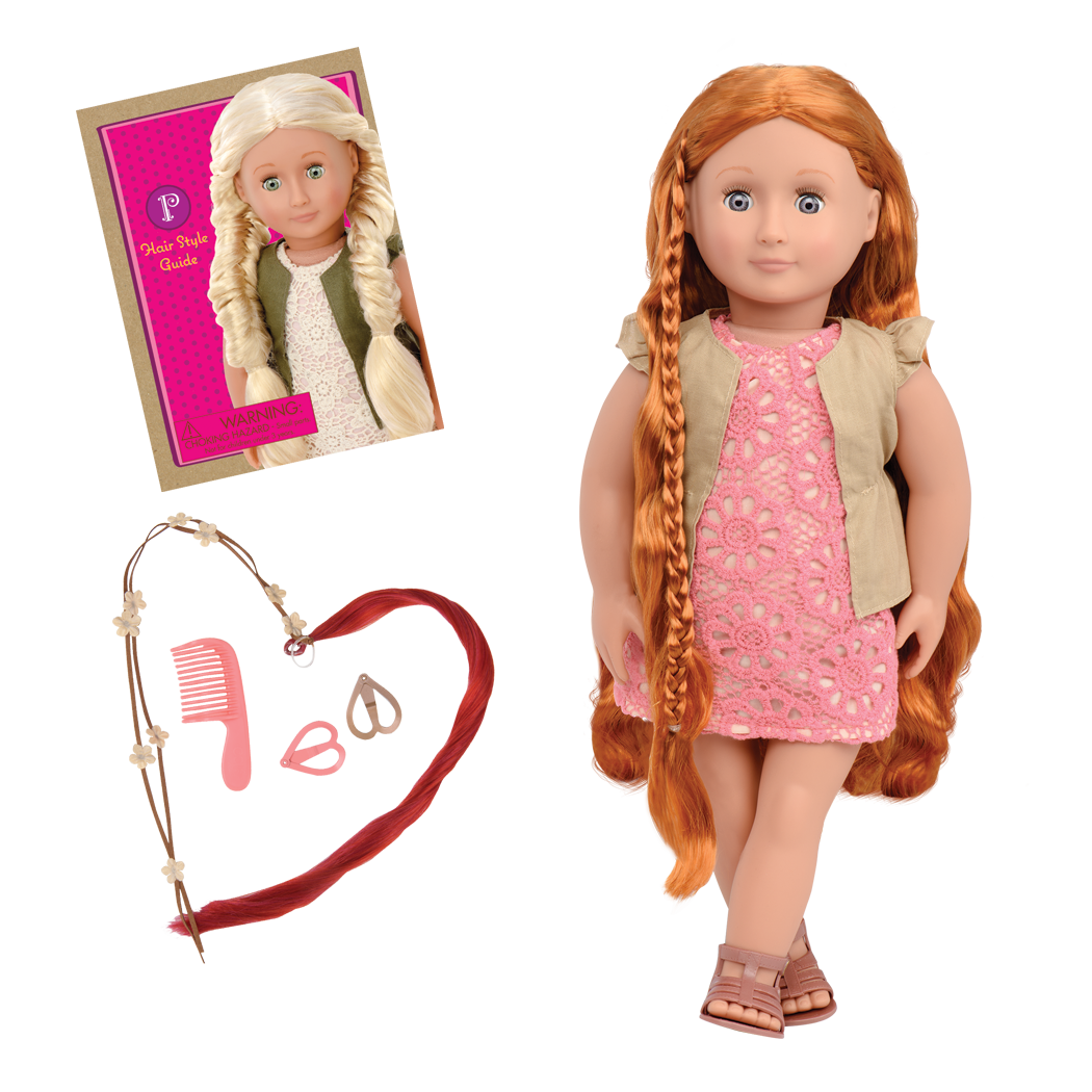Patience 18-inch Hairplay Doll with Braids