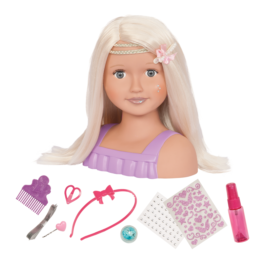 Trista Doll Hairstyle Styling Head