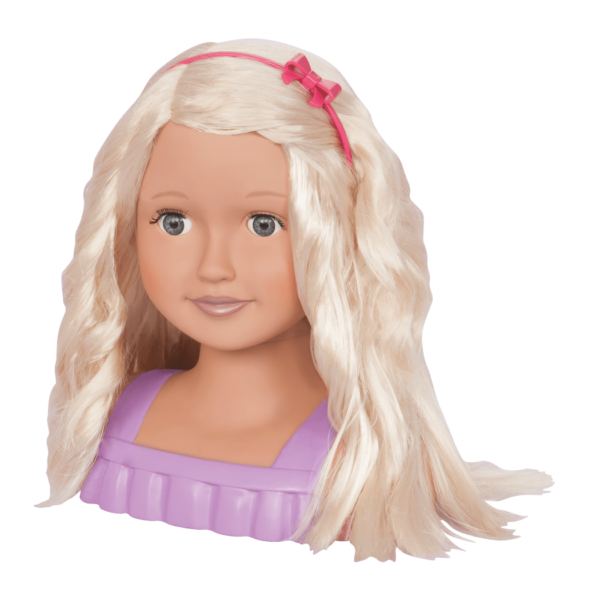 Trista Doll Head Doll Hairstyles Styling Head Our Generation