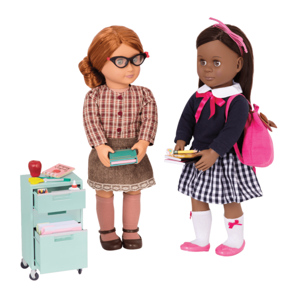 Elementary Class Playset April and Maeva dolls