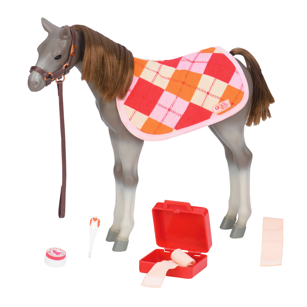 12-inch Rocky Mountain Foal for Dolls