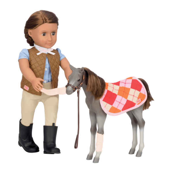 Rocky Mountain Foal with Catarina doll