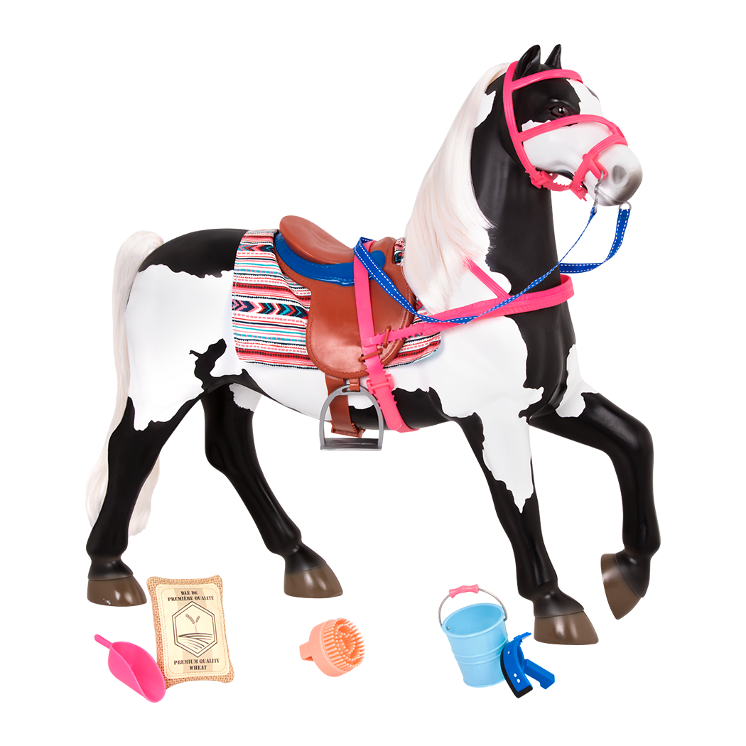 20-inh American Paint Horse Toy for 18-inch Dolls