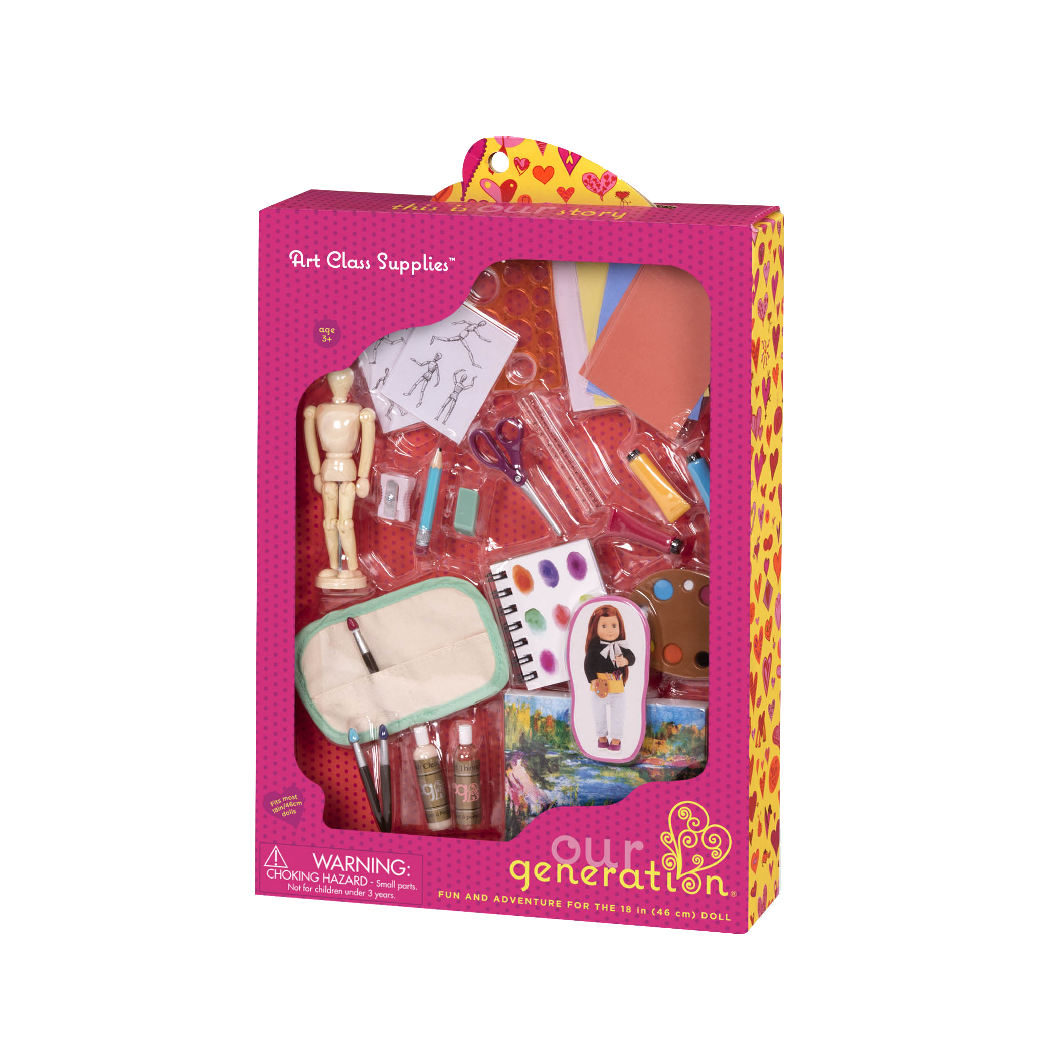 Art Class Accessory Set package