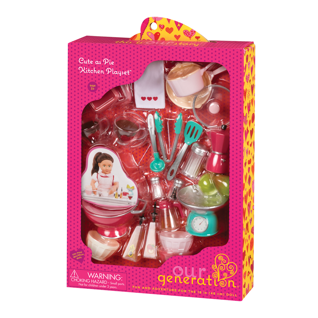 Cute As Pie Kitchen Playset package
