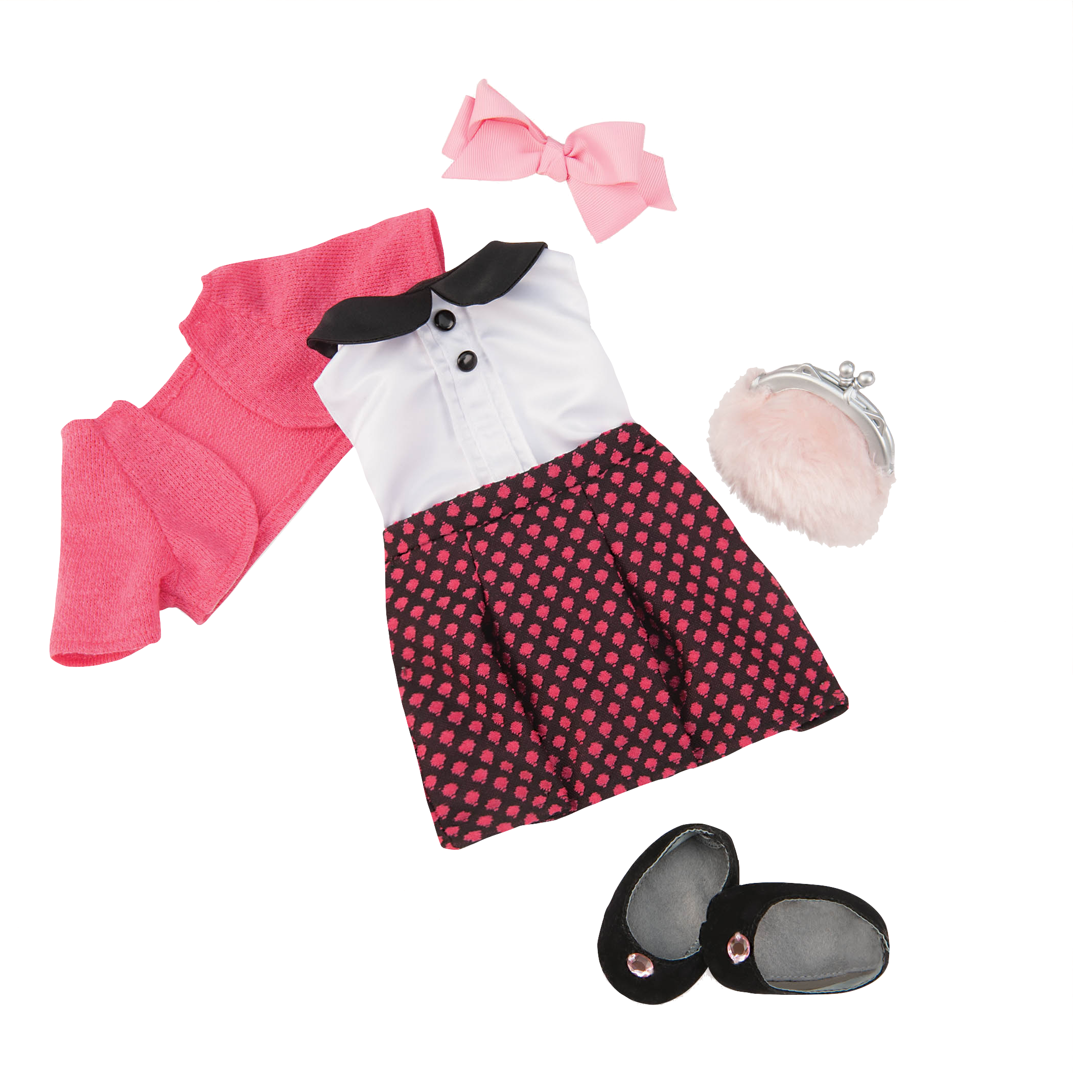 In the Mood for Mod Deluxe Outfit for 18-inch Dolls