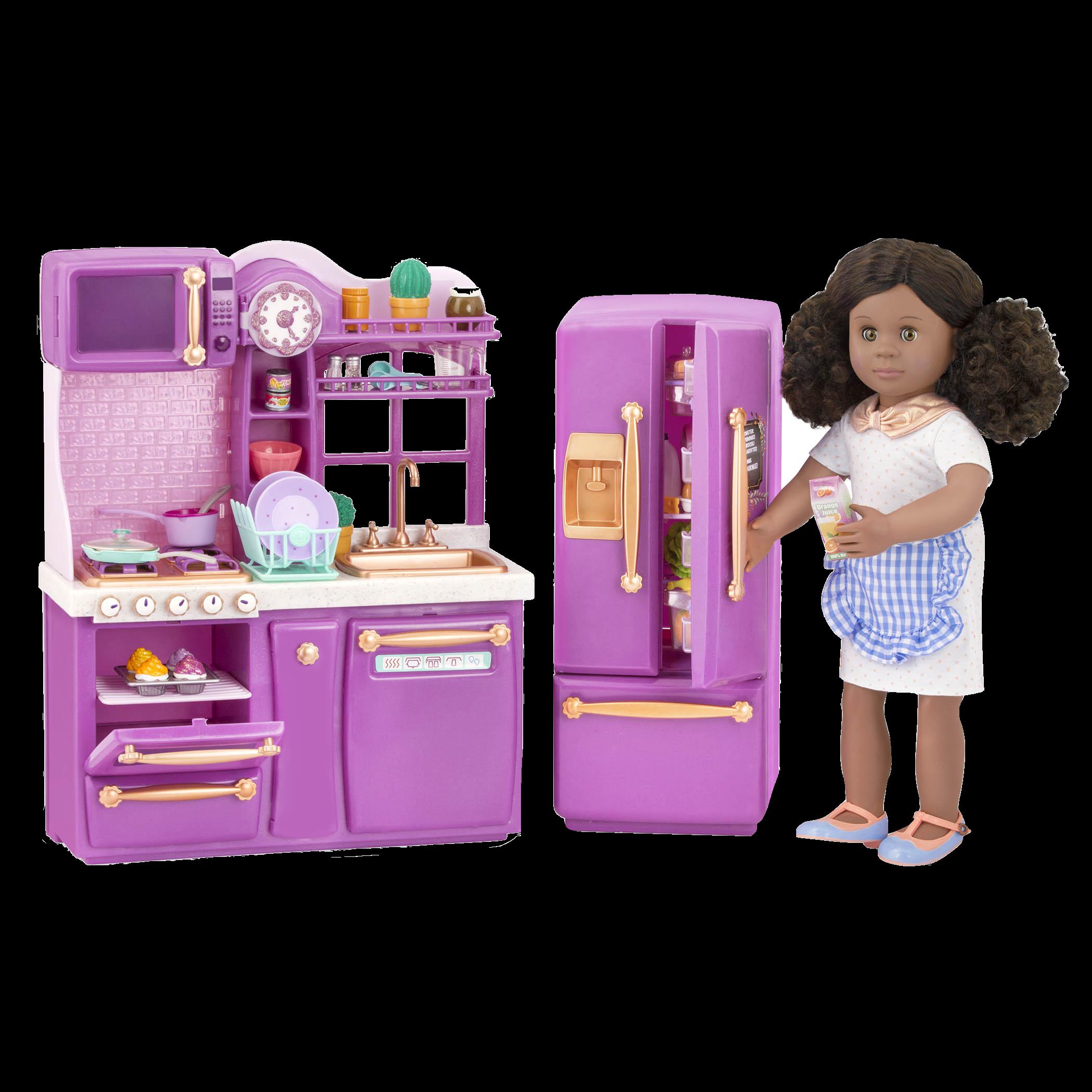 Gourmet kitchen set purple accessories gourmet