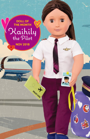 Kaihily Doll of the Month November 2018