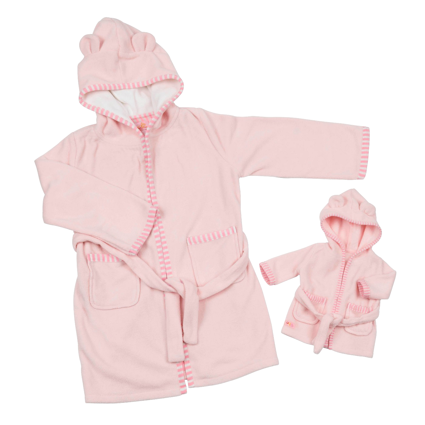 Polar Bear Fleece Bathrobe