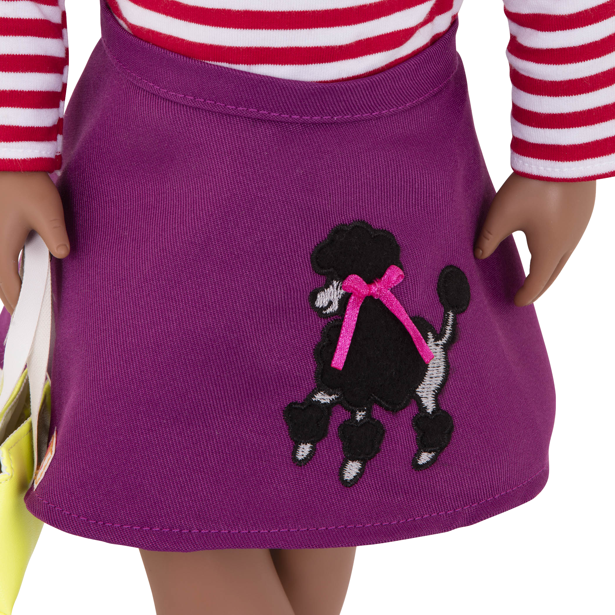 Poodle skirt detail