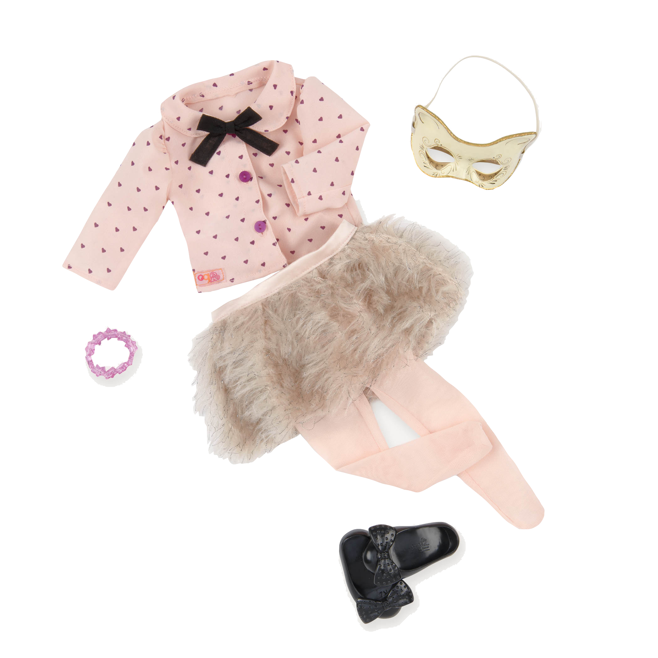Fur Sure deluxe skirt outfit