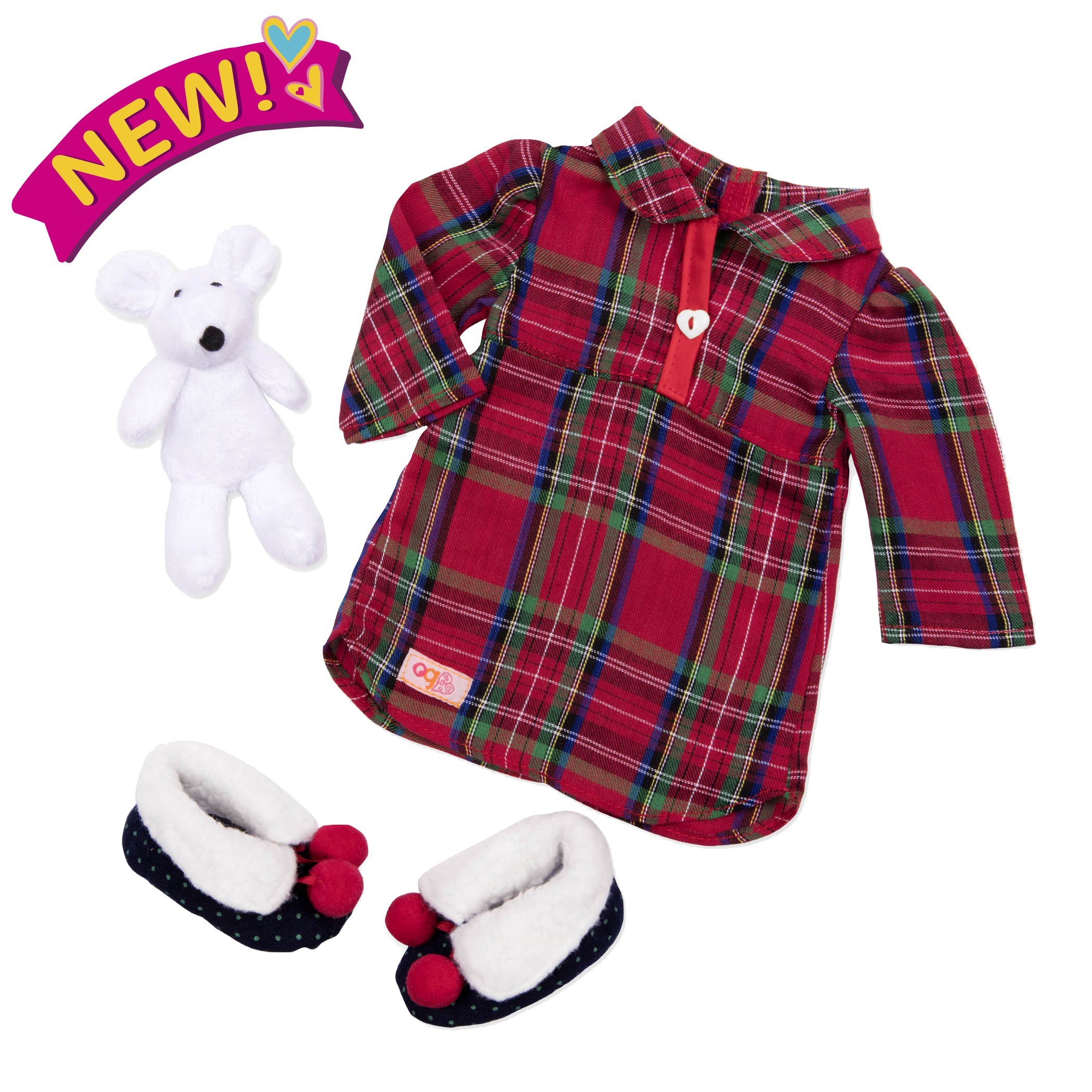 Pajama Outfit for 18-inch Dolls