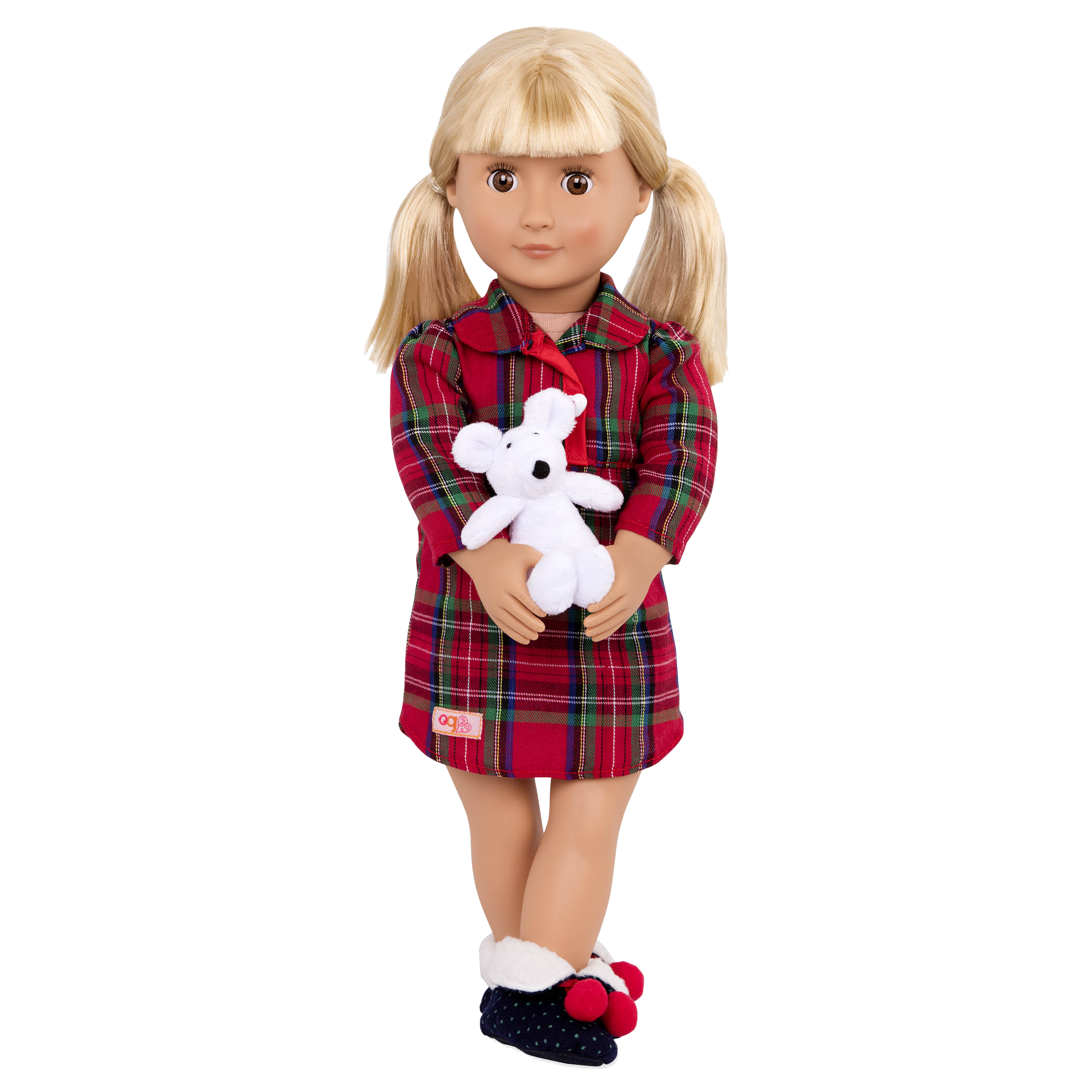 Nighty night Nightie holiday pajama outfit Rowan doll wearing01