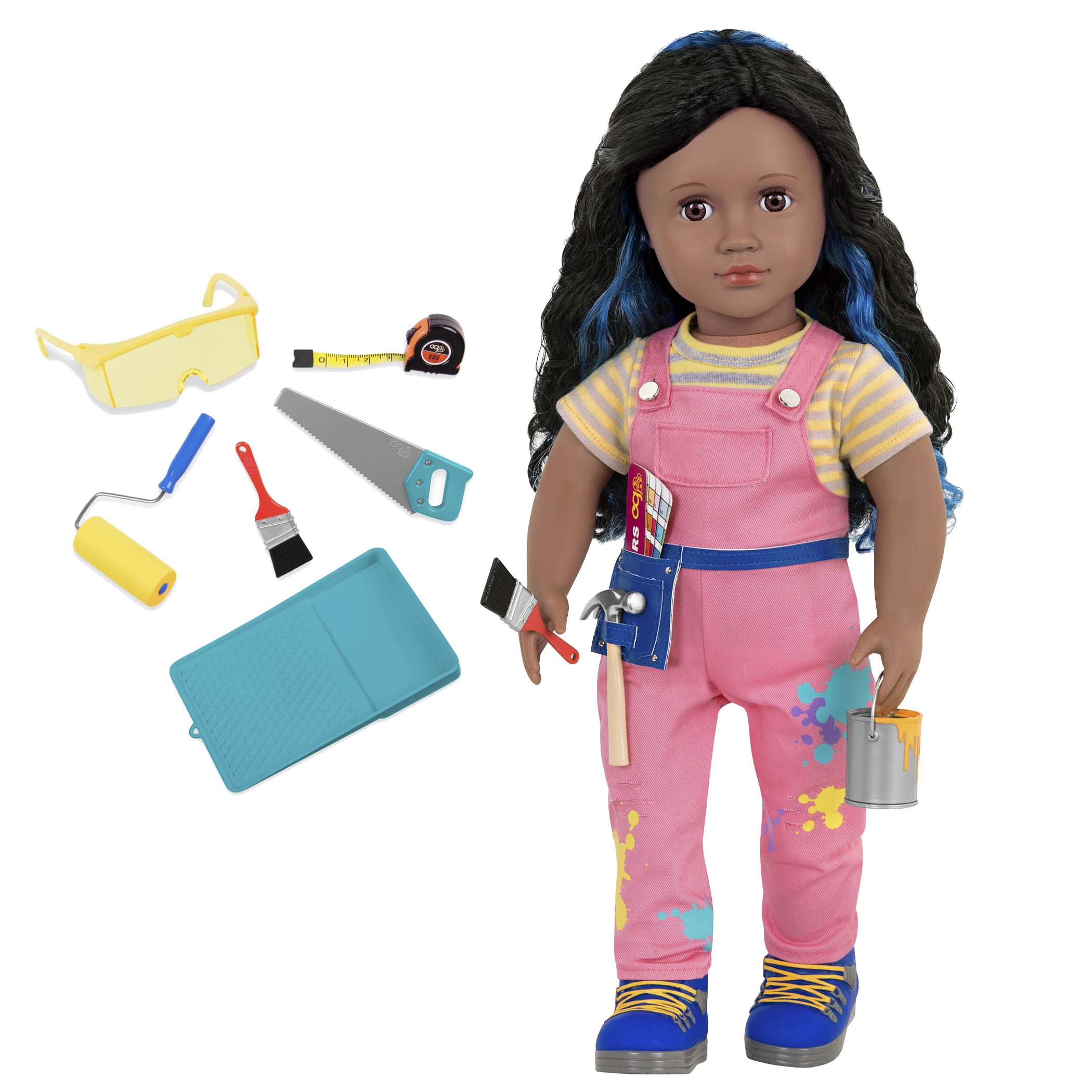 Valeria 18-inch Woodworking Doll