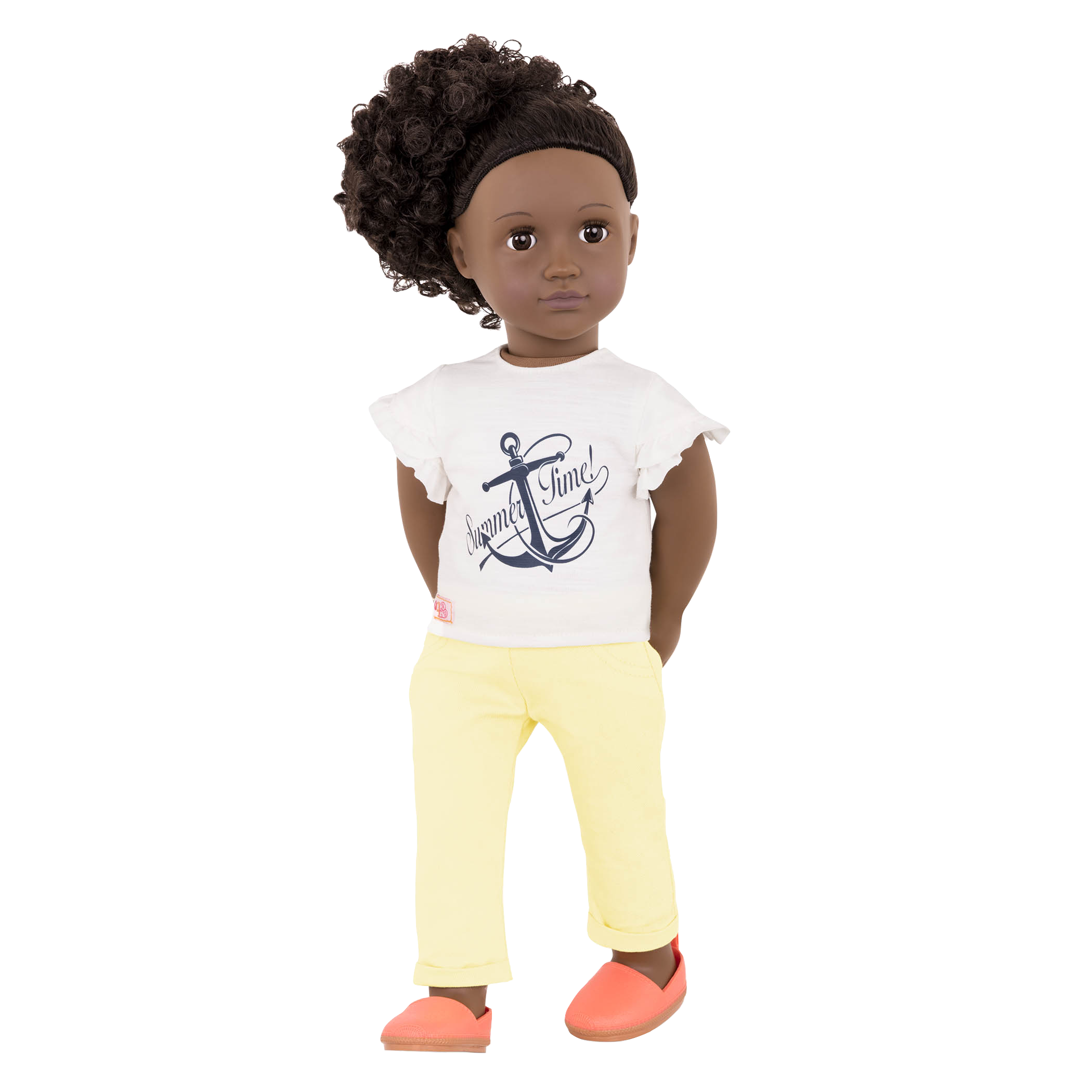 Ayeesha 18-inch Doll with Beach Outfit