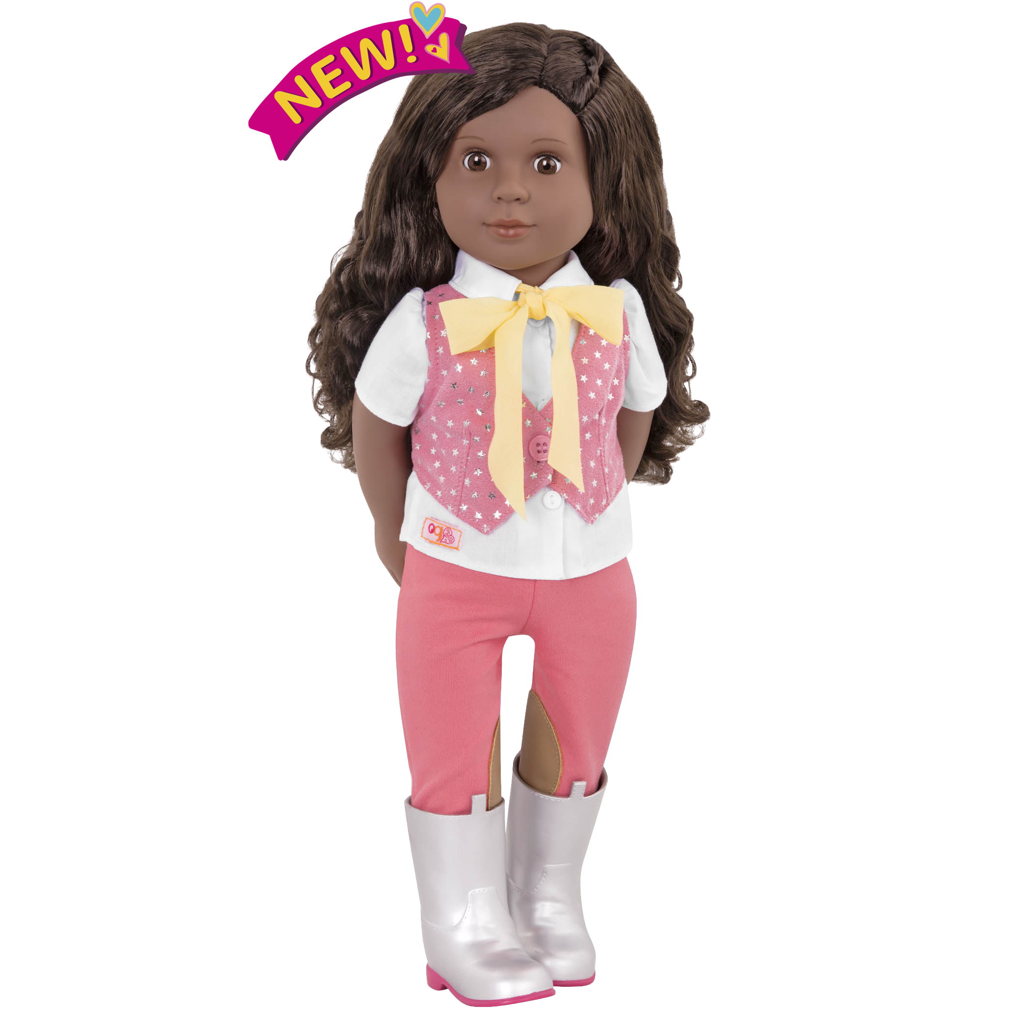 Manuella 18-inch Riding Doll
