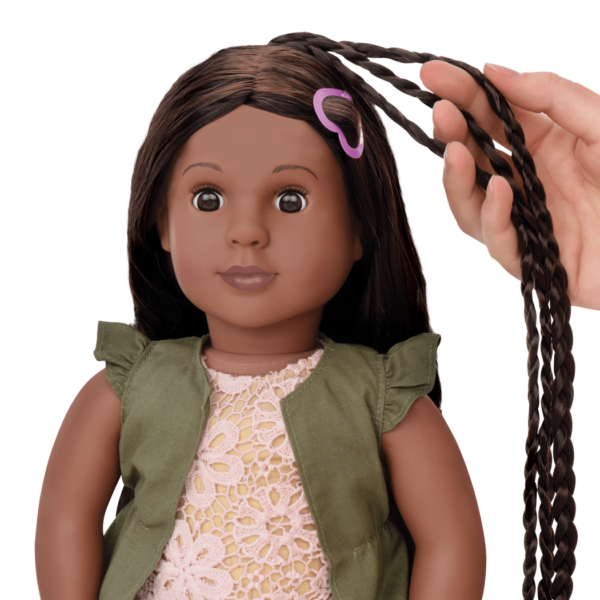 Neveah Hairplay Doll 18 Inch Doll Growing Hair Our Generation