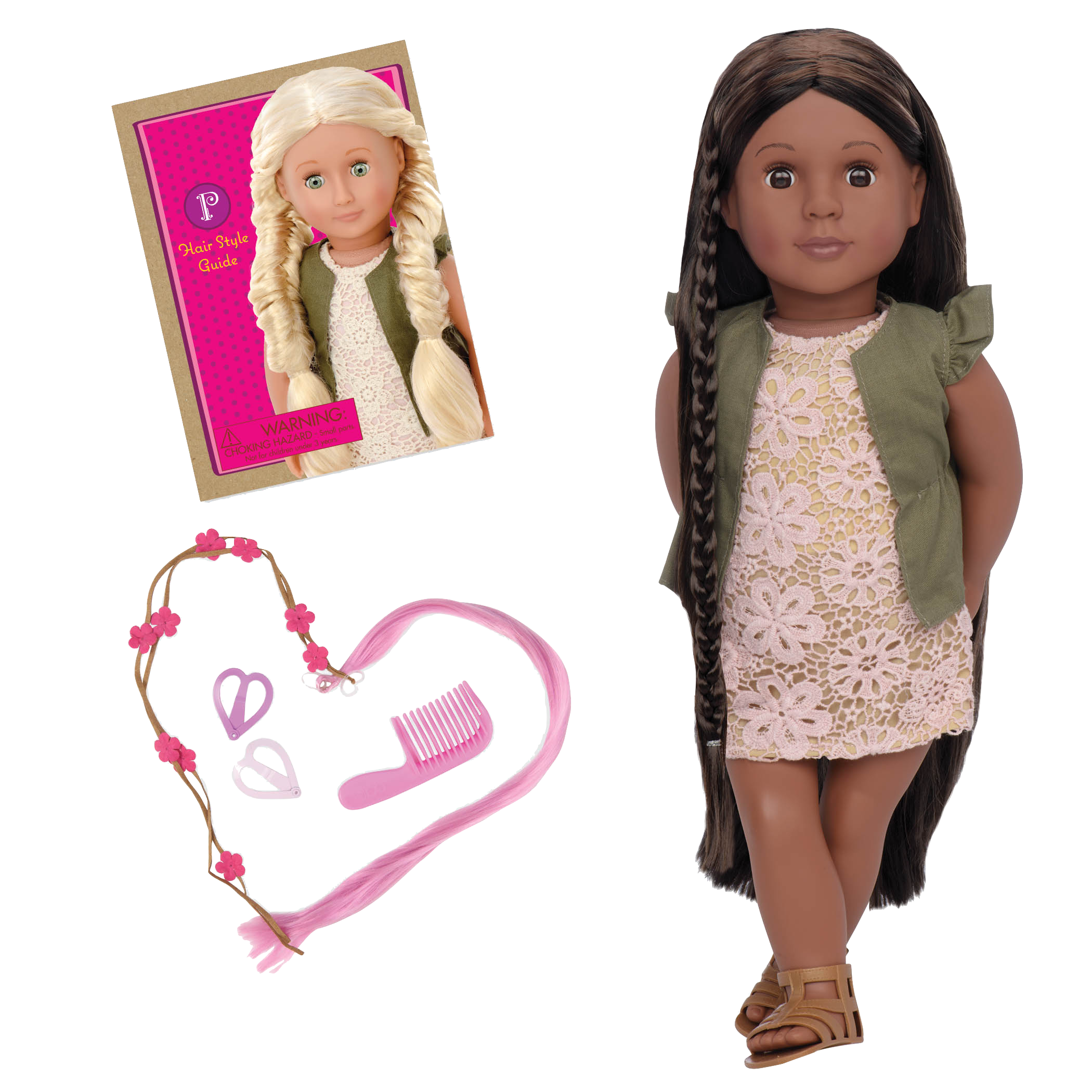 Neveah 18-inch Hairplay Doll with Braids