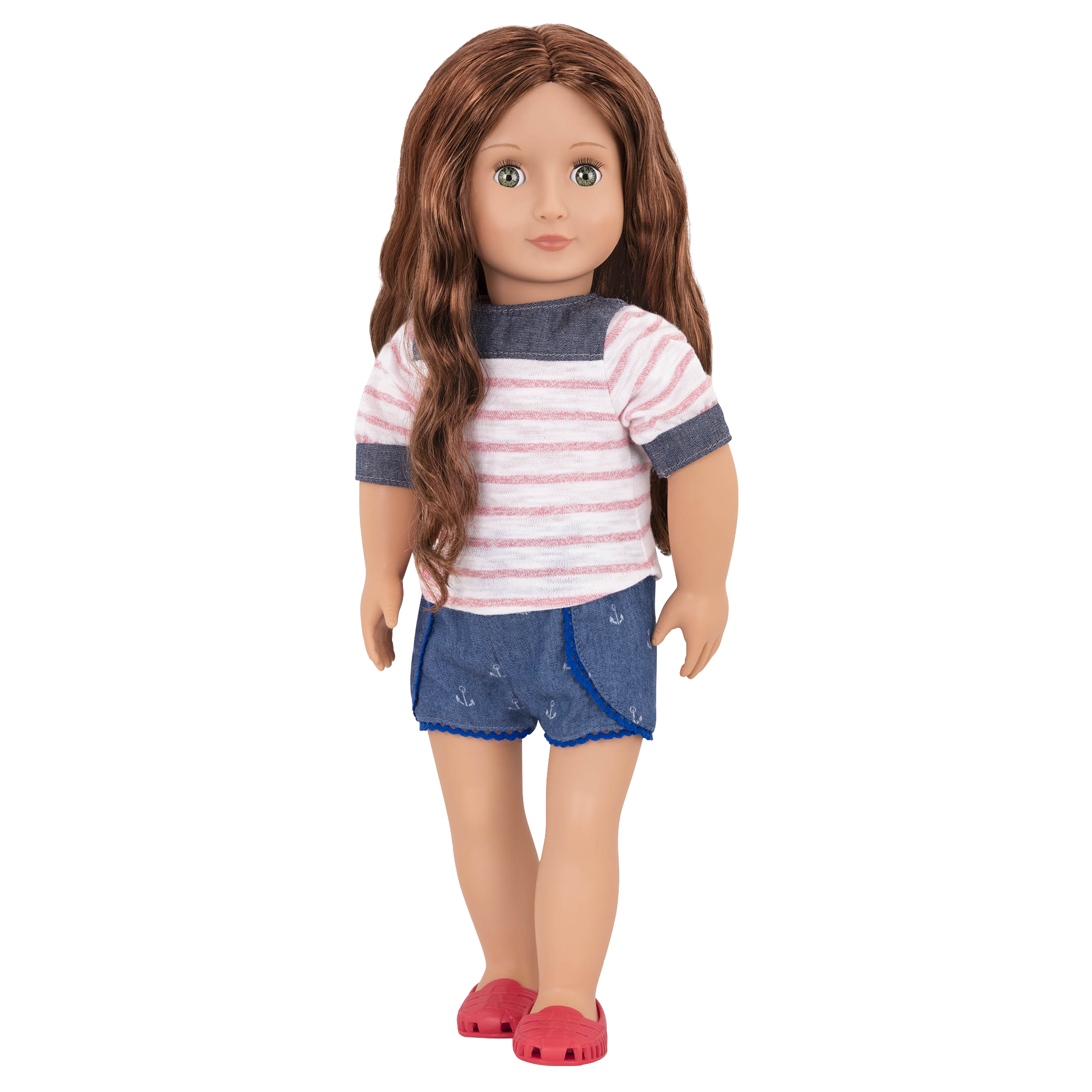Shailene 18-inch Doll in Beach Outfit