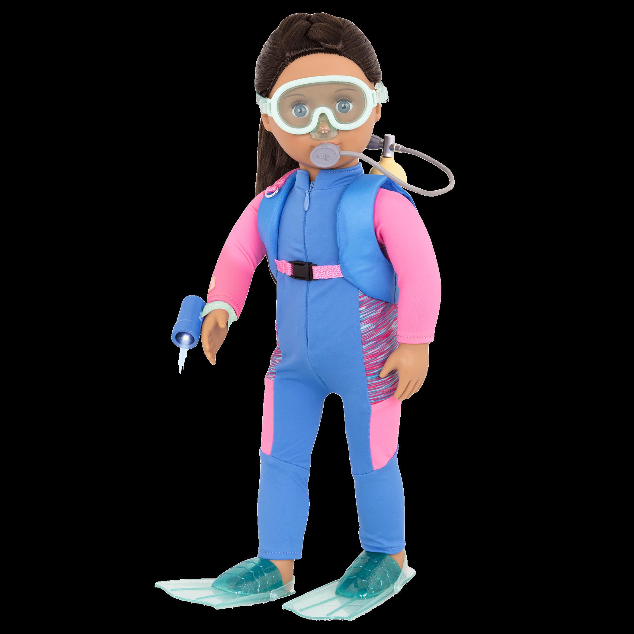 Annika 18-inch Marine Biologist Doll