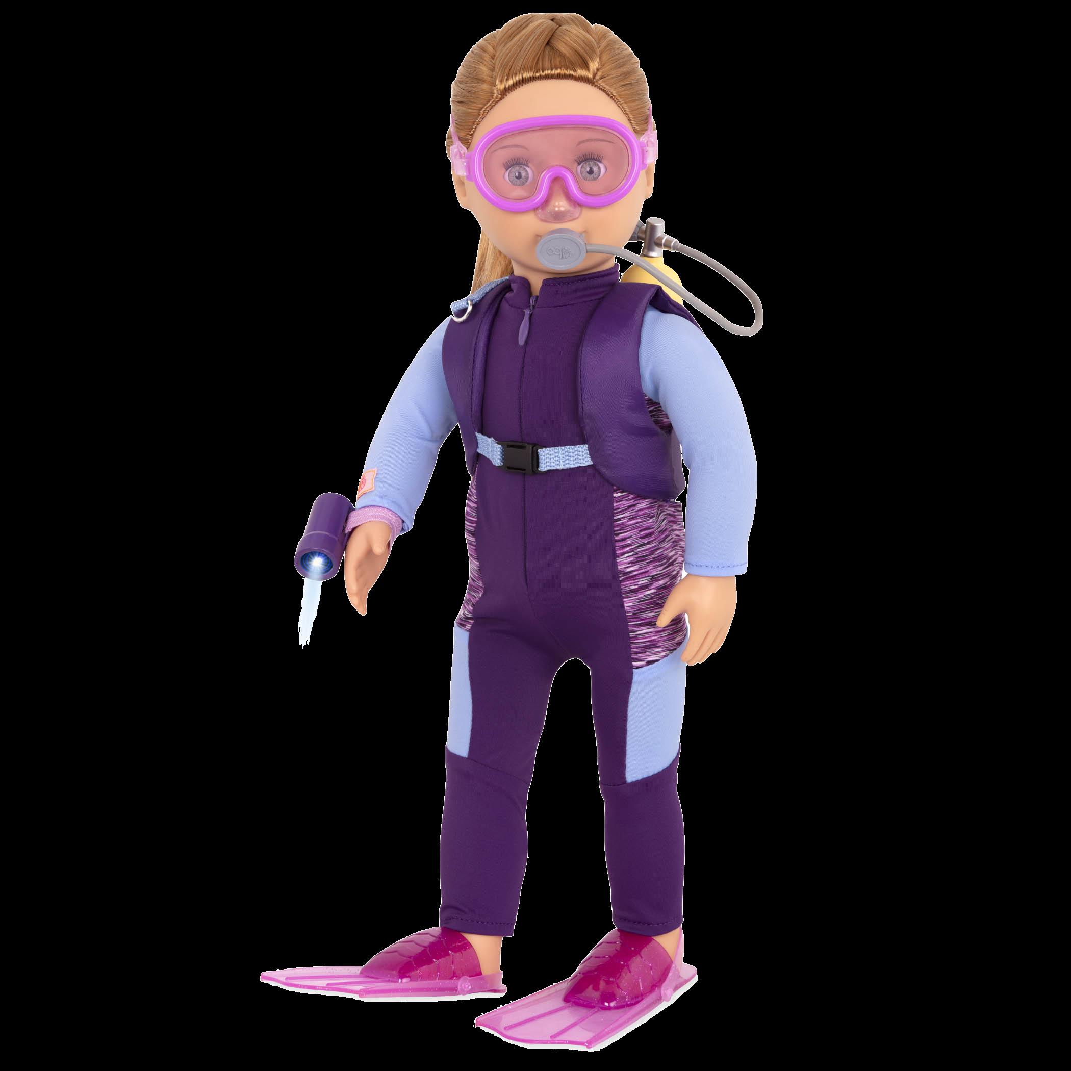 Hattie 18-inch Marine Biologist Doll
