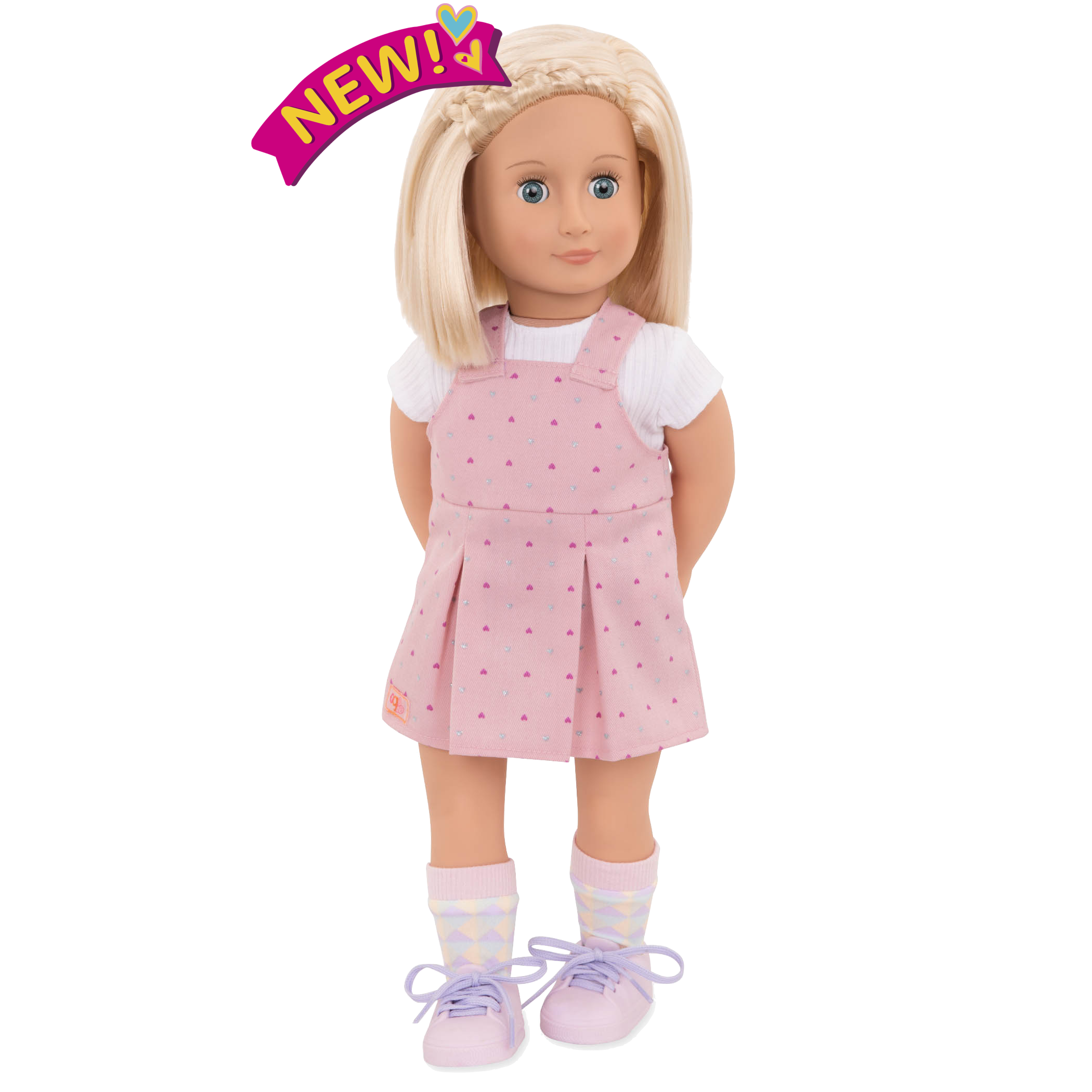Naty 18-inch Doll with Short Hair