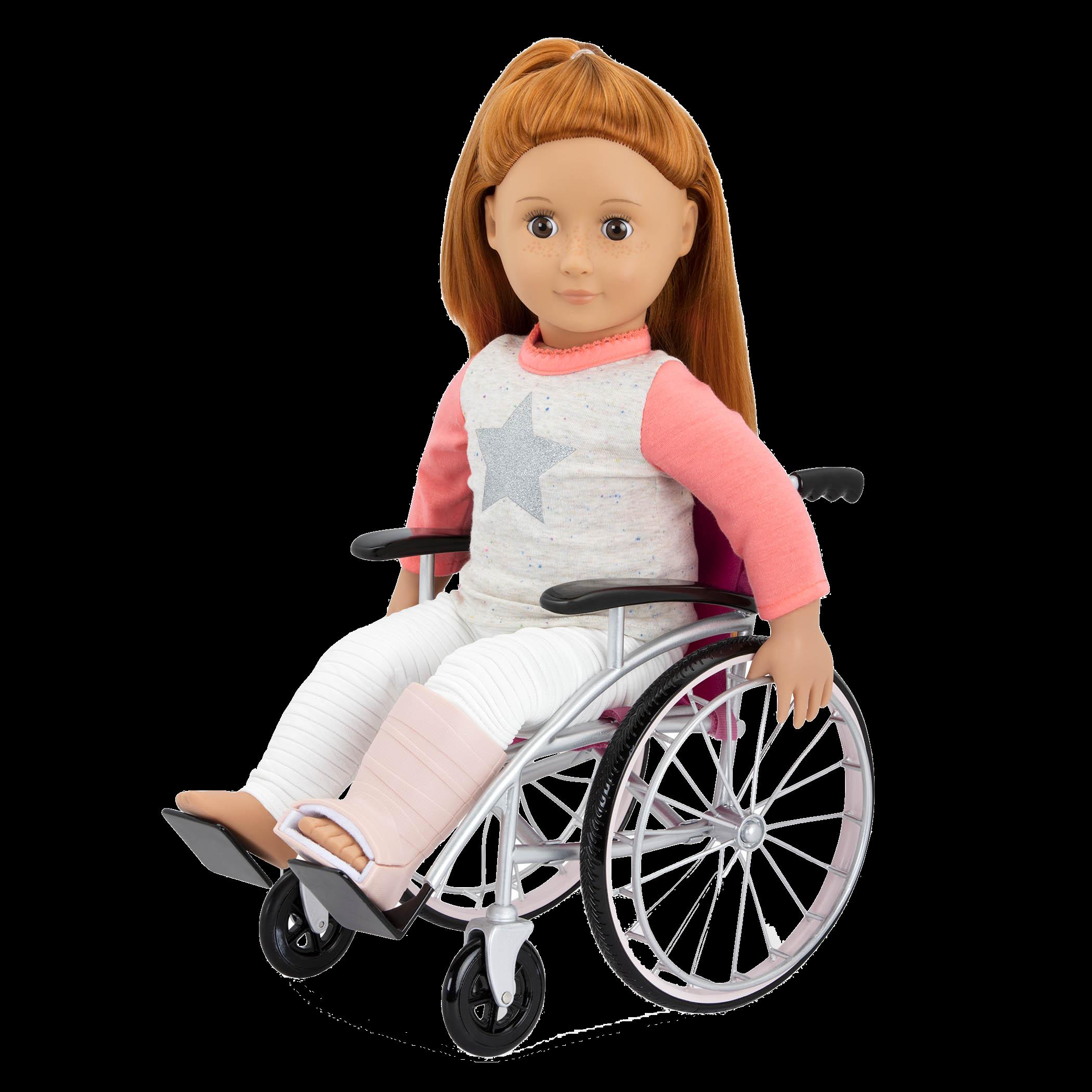 Heals on Wheels medical Accessories Noa in wheelchair