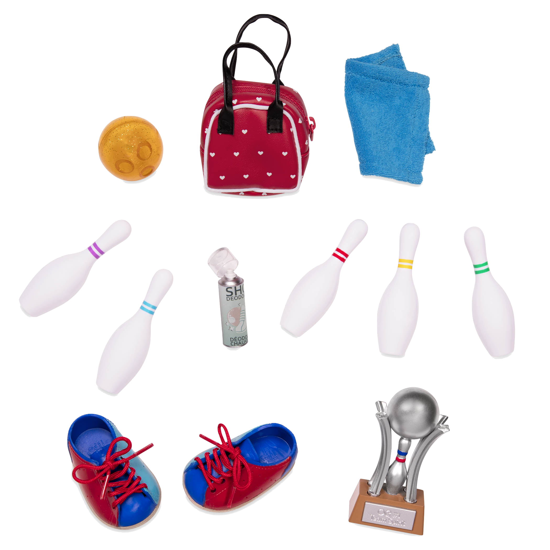 Let It Roll Accessory Set for 18-inch Dolls