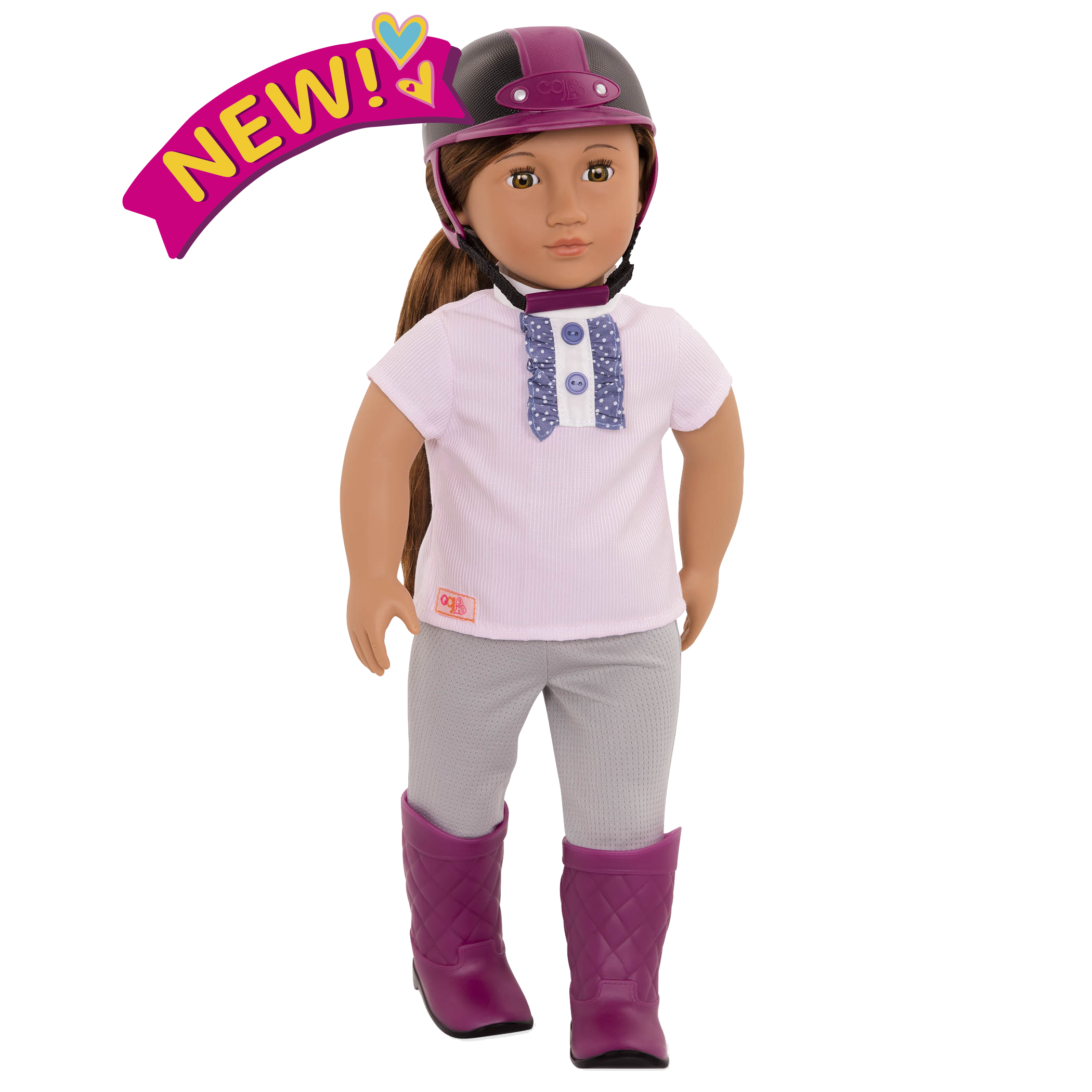 Elliana 18-inch Riding Doll