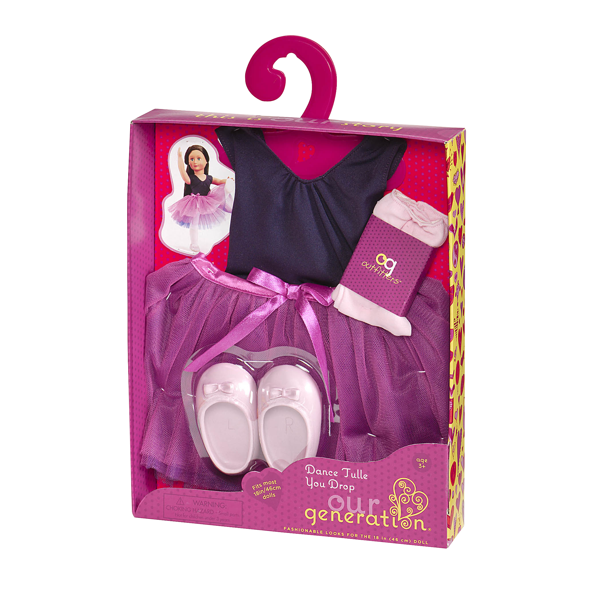 Dance Tulle You Drop ballet outfit package