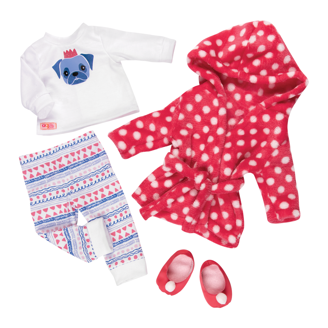 Snuggle Up deluxe pajama outfit all components