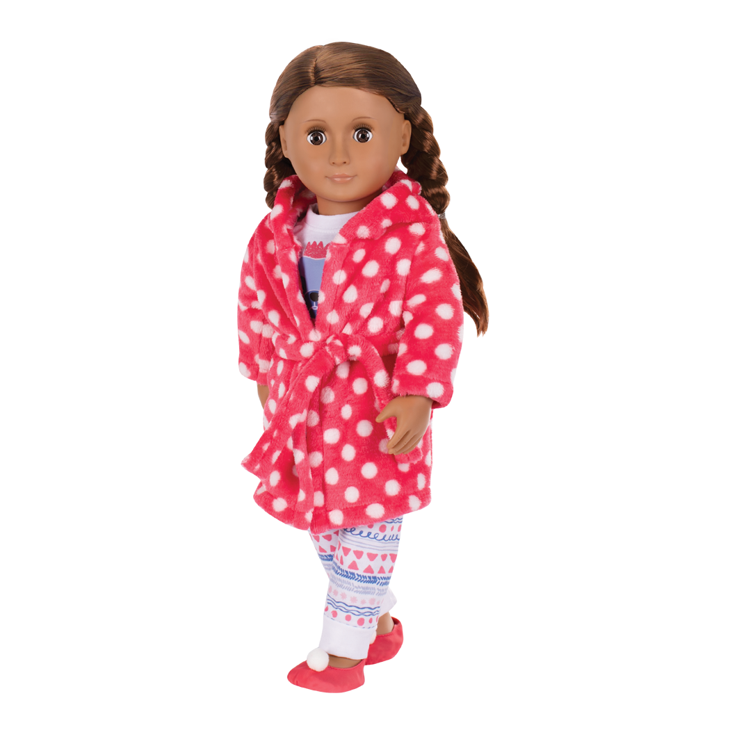 Snuggle Up deluxe pajama outfit Catarina wearing01