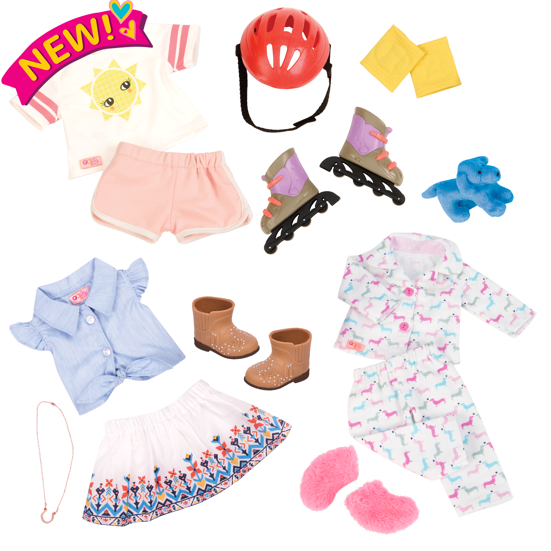 Bright Days and Cozy Nights Outfit Bundle all components