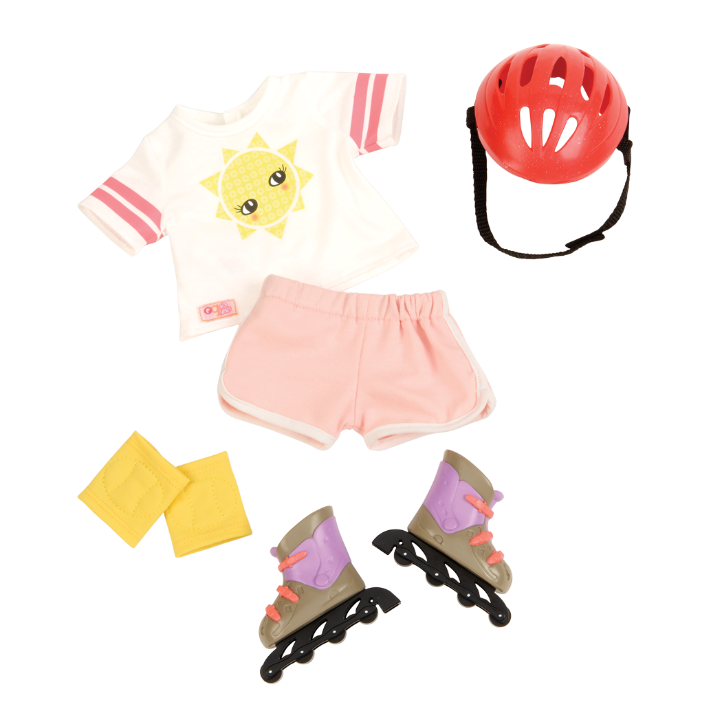 Bright Days and Cozy Nights Outfit Bundle rollerblade set