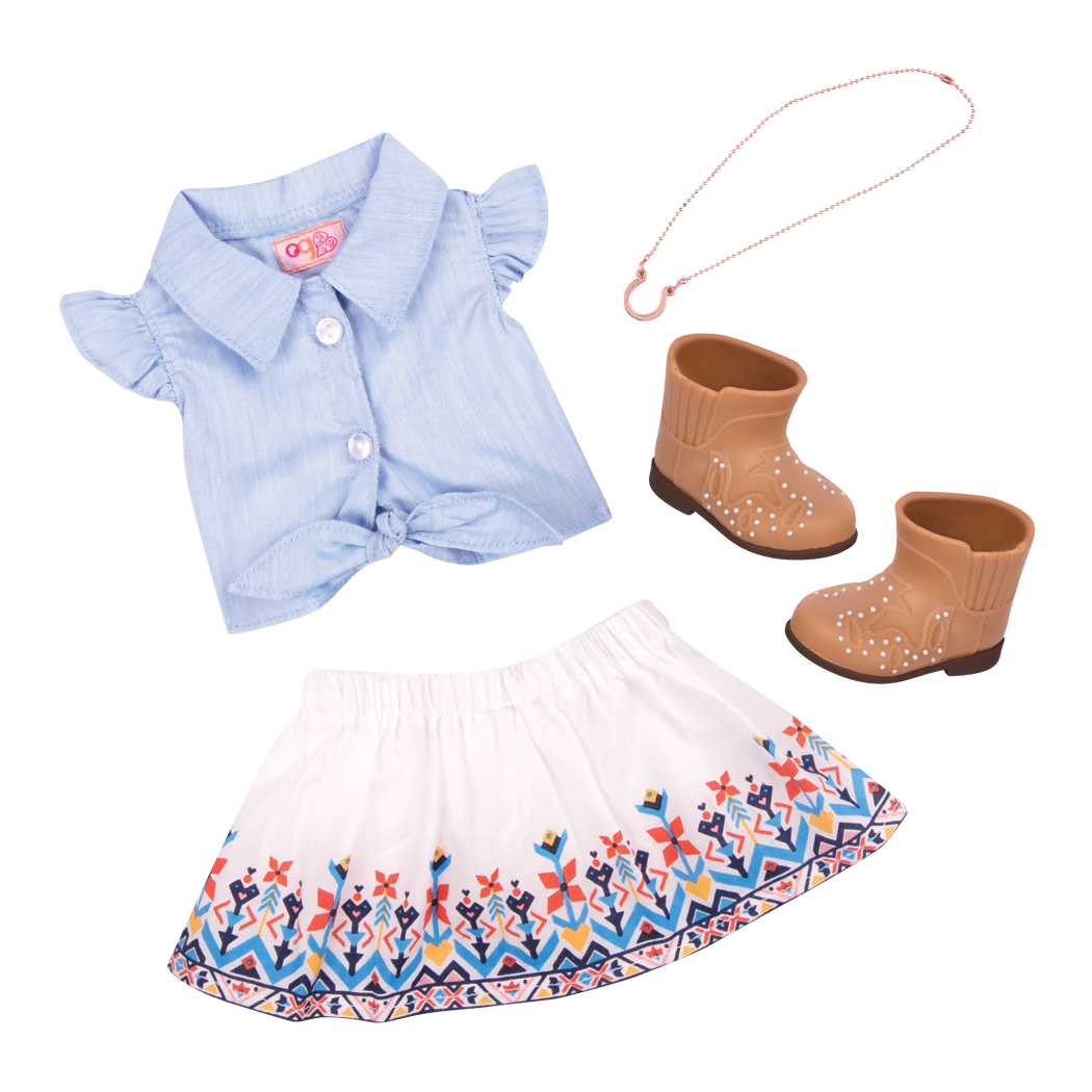 Bright Days and Cozy Nights Outfit Bundle western set