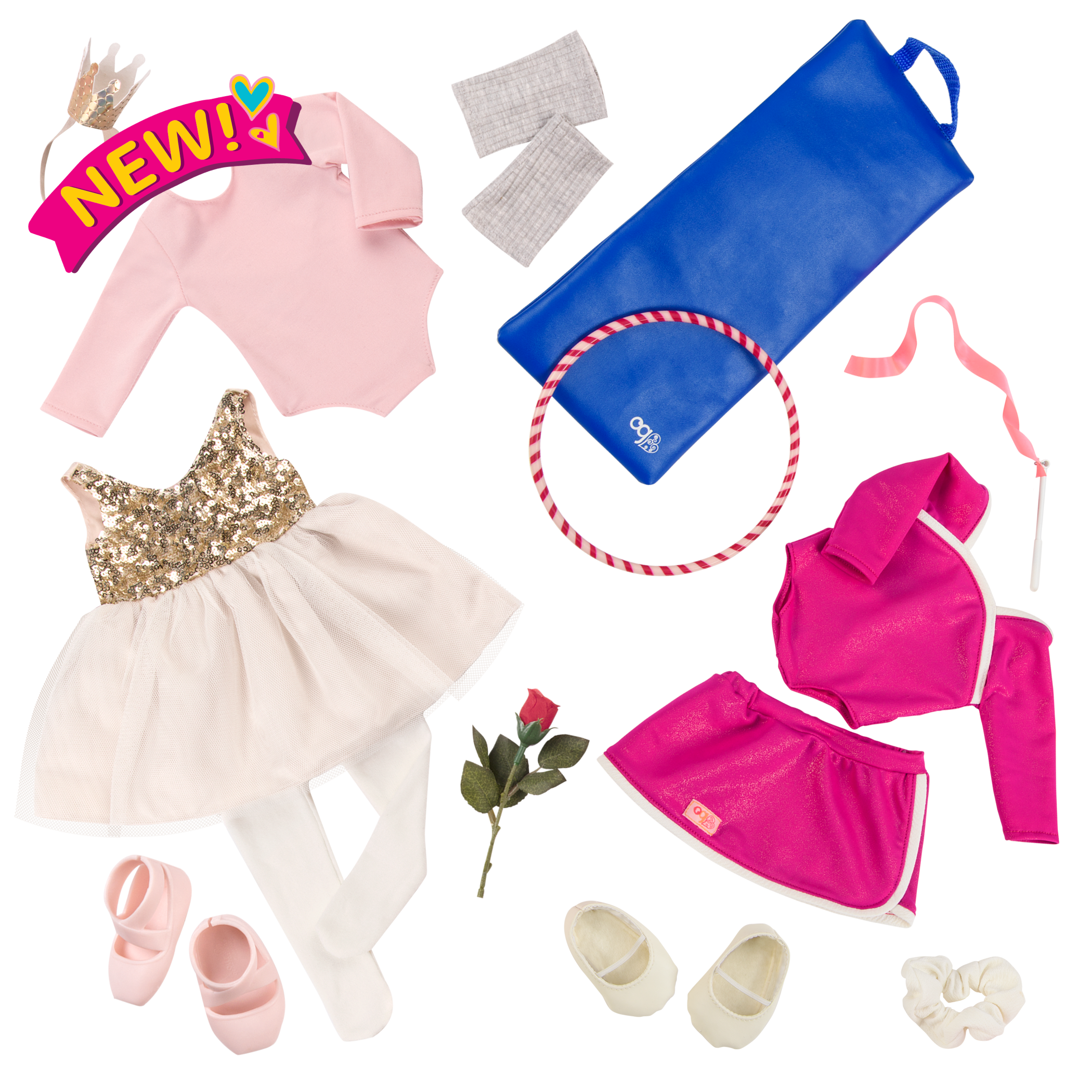 Outfit Bundle for 18-inch Dolls