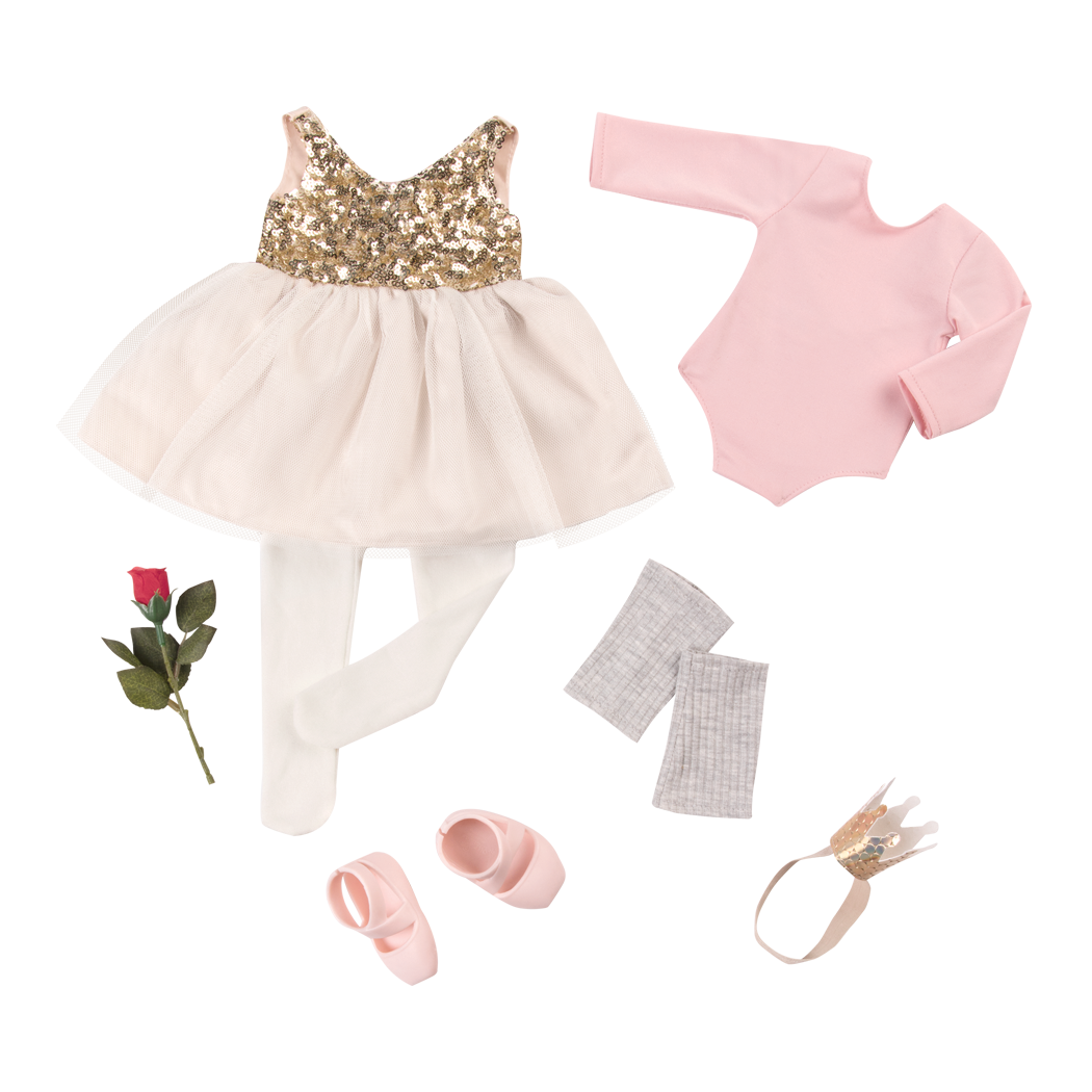 Jump and Twirl outfit Bundle deluxe ballet clothes